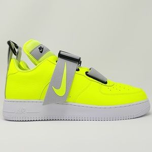 Nike Air Force 1 Low Utility Volt White AO1531-700